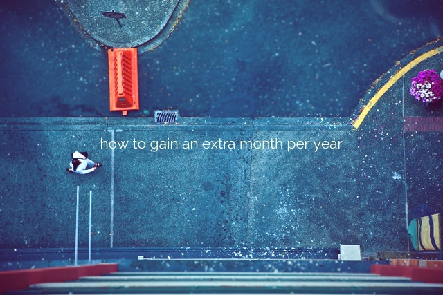 extra month per year