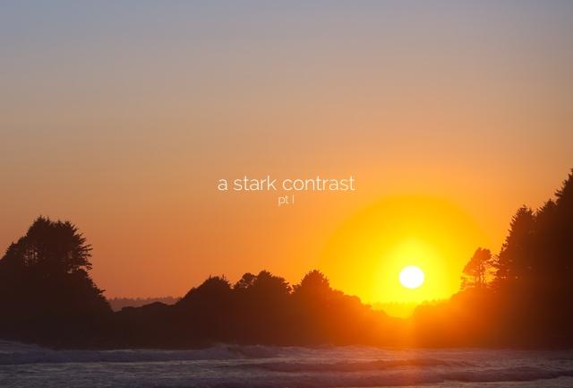Tofino Sun Set